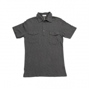 Buy Cotton Collar Polo Shirt Gray online at Shopcentral Philippines.