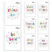 Buy Avanti Colorful Thoughts Premium Spiral Notebook online at Shopcentral Philippines.