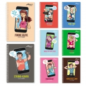 Buy Avanti Selfie Toons Premium Spiral Notebook online at Shopcentral Philippines.