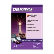 Buy Orions Photo Paper A4 Inkjet Paper Matte Coated 128gsm online at Shopcentral Philippines.