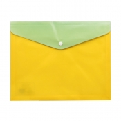 Buy Poche Basics Dual Color Button Envelope A4- Yellow online at Shopcentral Philippines.