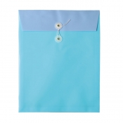 Buy Poche Basics Opaque Expandable Envelope A4 with Tie- Light Blue online at Shopcentral Philippines.