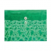Buy Poche Basics Leaves Expandable Envelope A4 with Tie- Green online at Shopcentral Philippines.
