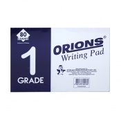 Buy Orions Writing Pad Grade 1 Solo online at Shopcentral Philippines.