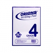Buy Orions Writing Pad Grade 4 Solo online at Shopcentral Philippines.