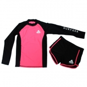 Buy Rash Guard for Girls Set Pink online at Shopcentral Philippines.