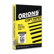Buy Orions Copy Paper Ream A4 70gsm online at Shopcentral Philippines.