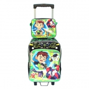 Buy Ben 10 Trolley Bag Black/Green online at Shopcentral Philippines.