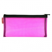 Buy Mesh Pencil Case Pink online at Shopcentral Philippines.