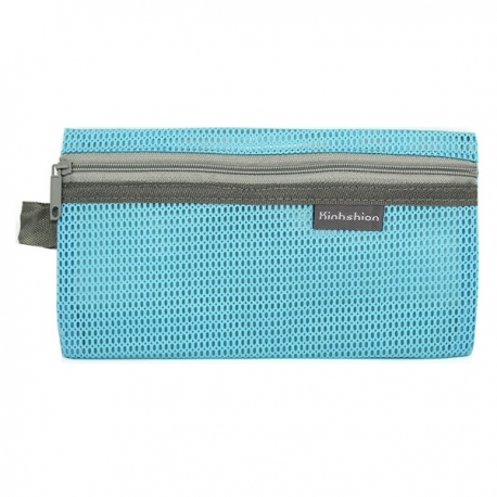 Buy Mesh Pencil Case Light Blue Small online at Shopcentral Philippines.