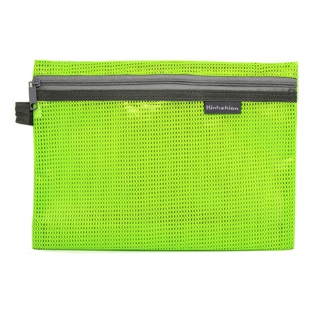 Buy Mesh Pencil Case Green Large online at Shopcentral Philippines.