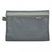 Buy Mesh Pencil Case Gray Large online at Shopcentral Philippines.