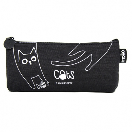 Buy Canvass Pencil Case w/ Acrylic Box Cat 2 online at Shopcentral Philippines.