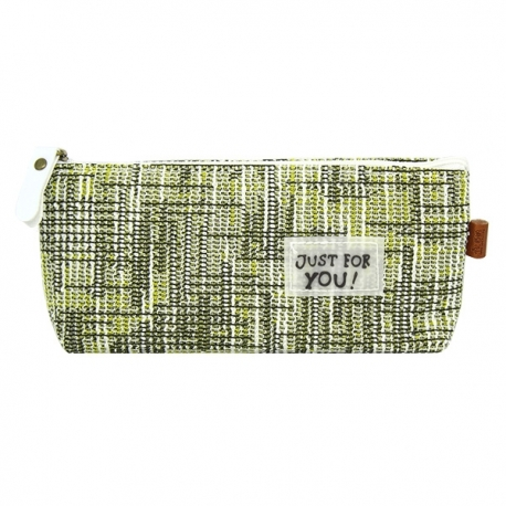Buy Canvass Pencil Case w/ Acrylic Box Just For You online at Shopcentral Philippines.
