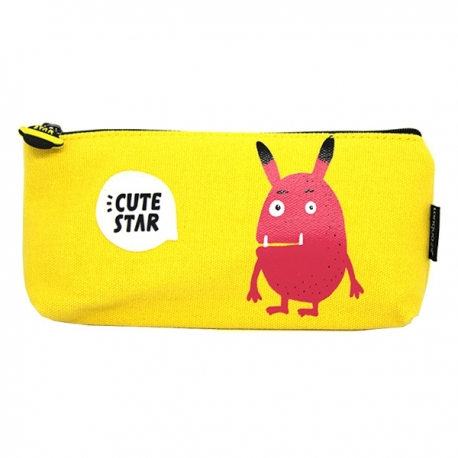 Buy Canvass Pencil Case w/ Acrylic Box Cute Star online at Shopcentral Philippines.