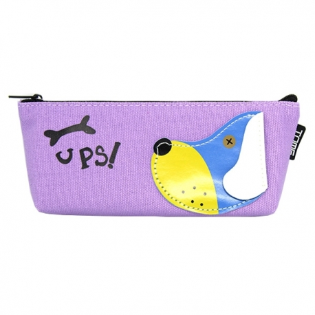 Buy Canvass Pencil Case w/ Acrylic Box Ups online at Shopcentral Philippines.
