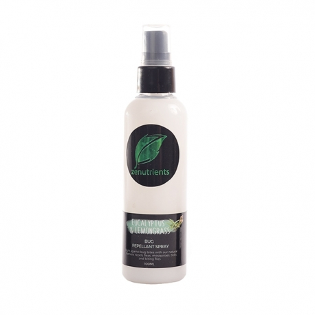 Buy Zenutrients  Eucalyptus & Lemongrass Bug Repellant Spray 100ml online at Shopcentral Philippines.