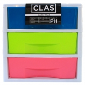 Buy CLAS PLUS 3 Drawers Lifestyle Organizer online at Shopcentral Philippines.