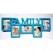 Buy Family 5 Photo Collage Frame Blue online at Shopcentral Philippines.
