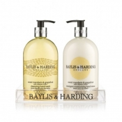 Buy Baylis & Harding Sweet Mandarin & Grapefruit 2 Bottle Set in a Clear Acrylic Rack online at Shopcentral Philippines.