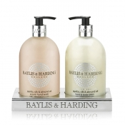 Buy Baylis & Harding Jojoba, Silk & Almond Oil 2 Bottle Set In An Acrylic Rack online at Shopcentral Philippines.