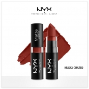 Buy Nyx Professional Makeup  MLS43 Matte Lipstick Crazed online at Shopcentral Philippines.