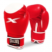 Buy Excalibur Competition PVC Boxing Gloves R/W online at Shopcentral Philippines.