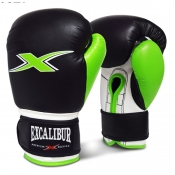Buy Excalibur PVC Boxing Gloves Black/Green online at Shopcentral Philippines.