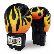 Buy Excalibur Flames PU Kickboxing Gloves online at Shopcentral Philippines.