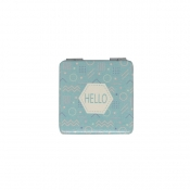 Buy Cosmetic Pouch Mirror Hello Blue online at Shopcentral Philippines.