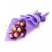 Buy 1 Dozen Ferrero Violet Bouquet  online at Shopcentral Philippines.