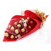 Buy 2 Dozen Ferrero Red Bouquet  online at Shopcentral Philippines.