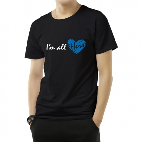 Buy I am All Hers T-shirt online at Shopcentral Philippines.