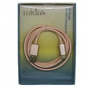 Buy Midas C Micro USB Cable R.Gold online at Shopcentral Philippines.
