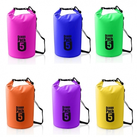 Buy Ocean Pack Waterproof Dry Bag Blue 5L online at Shopcentral Philippines.