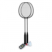 Buy Elite Badminton Set EBS01-B with 1 pc Shuttlecock online at Shopcentral Philippines.