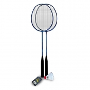 Buy Elite Badminton Set EBS01-BL with 1 pc Shuttlecock online at Shopcentral Philippines.