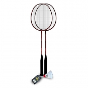 Buy Elite Badminton Set EBS01-R with 1 pc Shuttlecock online at Shopcentral Philippines.
