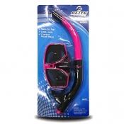 Buy Elite M41S40 Adult Mask and Snorkel Set Pink/Black online at Shopcentral Philippines.