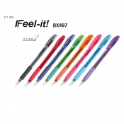 Buy Pentel I Feel-It! BX487 Colored Ink Ballpoint Pens online at Shopcentral Philippines.