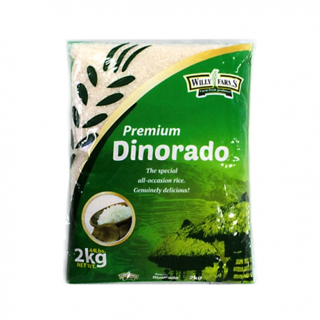 Buy Willy Farms Dinorado 2kg. online at Shopcentral Philippines.