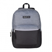 Buy Hawk Two Toned Textured Grey/Black Backpack online at Shopcentral Philippines.