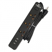 Buy Powerhouse Voyager Smart Anti-static Power Strip with 3 USB Outputs - Black online at Shopcentral Philippines.