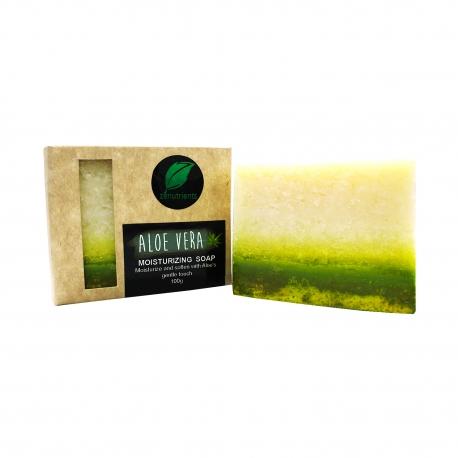 Buy Zenutrients Moisturizing Aloe Vera Soap 100g online at Shopcentral Philippines.