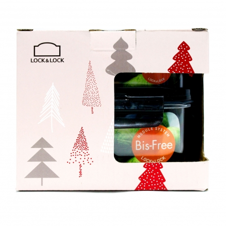 Buy Lock & Lock Christmas Set LBF402S2 online at Shopcentral Philippines.