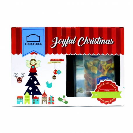 Buy Lock & Lock Christmas Set HPL807TA/B online at Shopcentral Philippines.