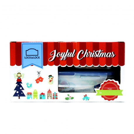 Buy Lock & Lock Christmas Set HPL816S3A/B online at Shopcentral Philippines.