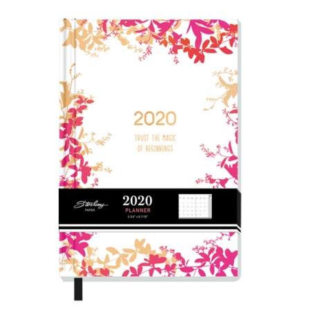 Buy Sterling 2020 New Beginnings Hardbound Diary Design 2  online at Shopcentral Philippines.