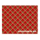 Sterling Christmas Flat Wrappers Red Plaid
