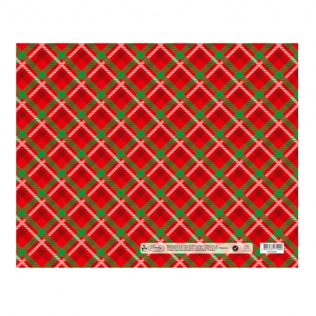 Buy Sterling Christmas Flat Wrappers Red Plaid online at Shopcentral Philippines.
